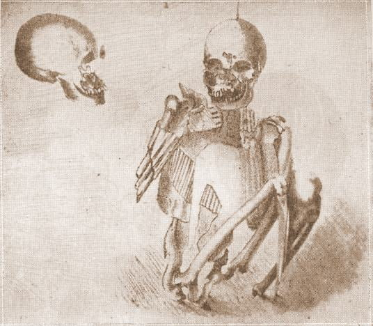 Skeleton in Armor