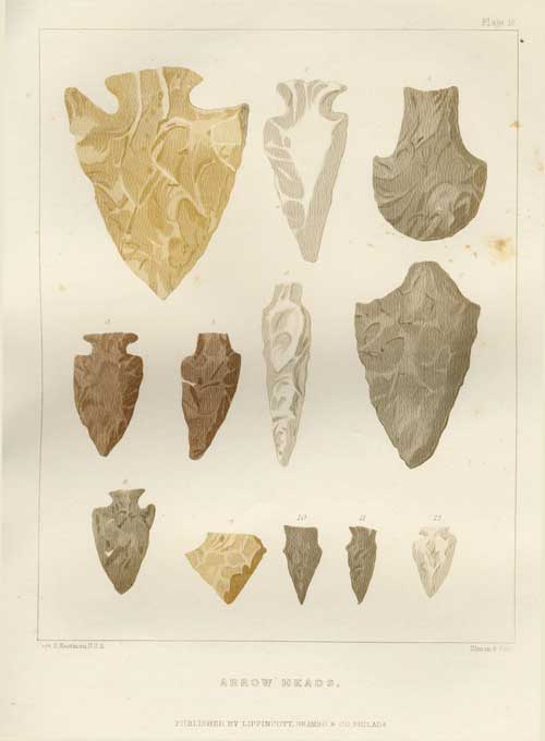 Indian Arrowheads - Plate 18