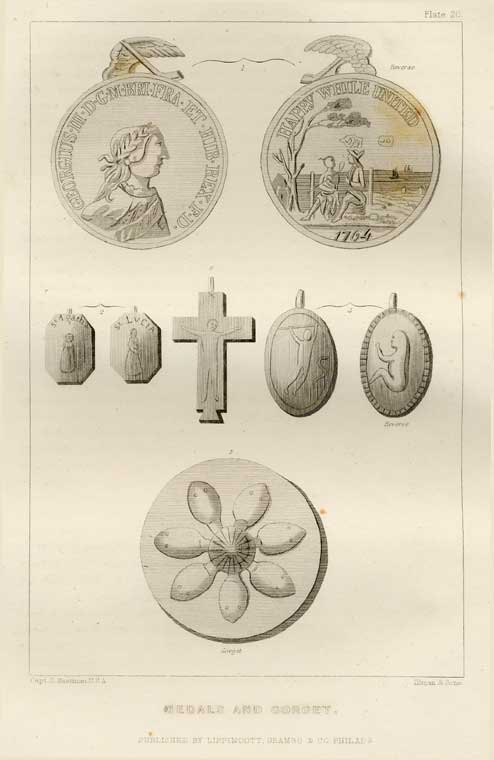 Medals and Gorgets - Plate 20