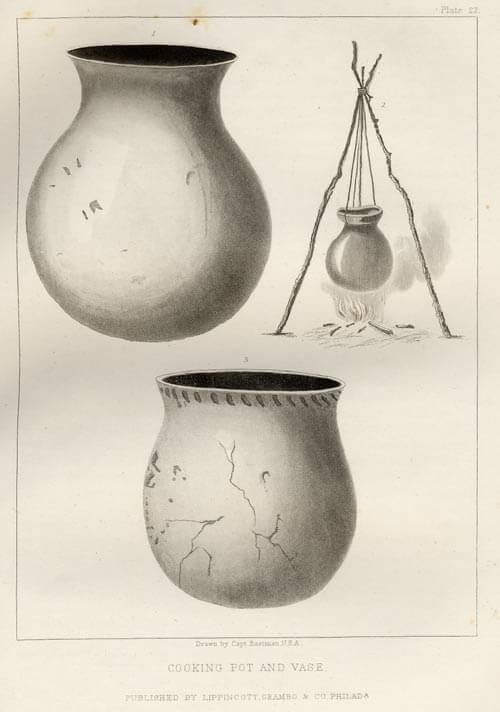 Cooking Pot and Vase - Plate 22