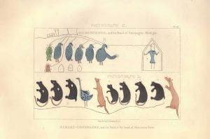 Symbolic Petition of Chippewa Chiefs - Plate 62