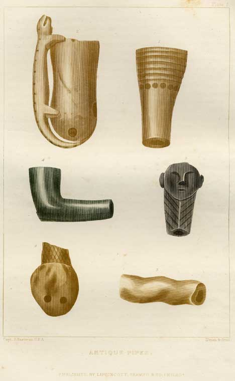 Antique Pipes - Plate 9