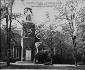 First Methodist Church Hawkinsville Georgia