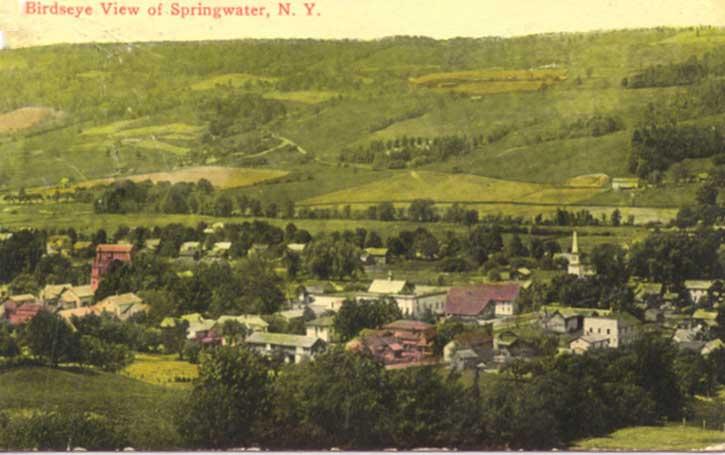 Springwater Livingston County New York