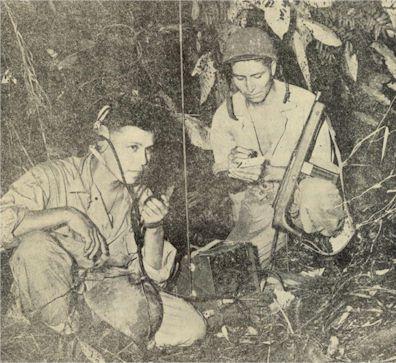 Error Bake, Jr., and Pfc. George I, Opetotfi a portfolio radio sell on Marine Corporal Photo