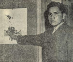 Pfc. Ira H. Hayes, Pima Indian