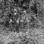 Jessee and Andy Standing Deer, Cherokee, North Carolina, 1891