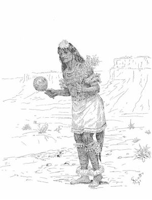 Male Pueblo Dancer