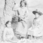 Jicarilla Apache mother