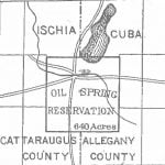 Oil Spring Reservation Map, 1890