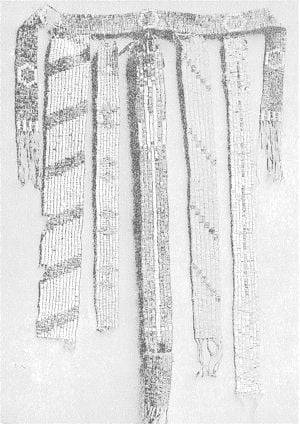 Six wampums of the Six nations