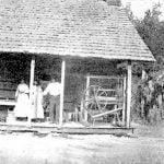 Eastern Cherokee Councilman Wesley Crow, at Home