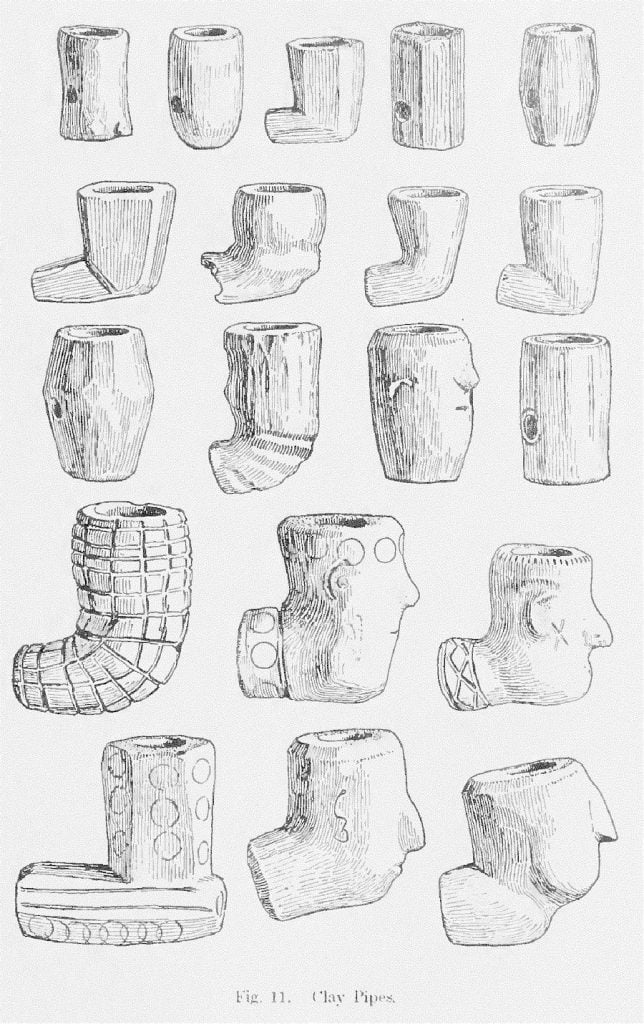 Fig. 11. Yuchi Clay Pipes