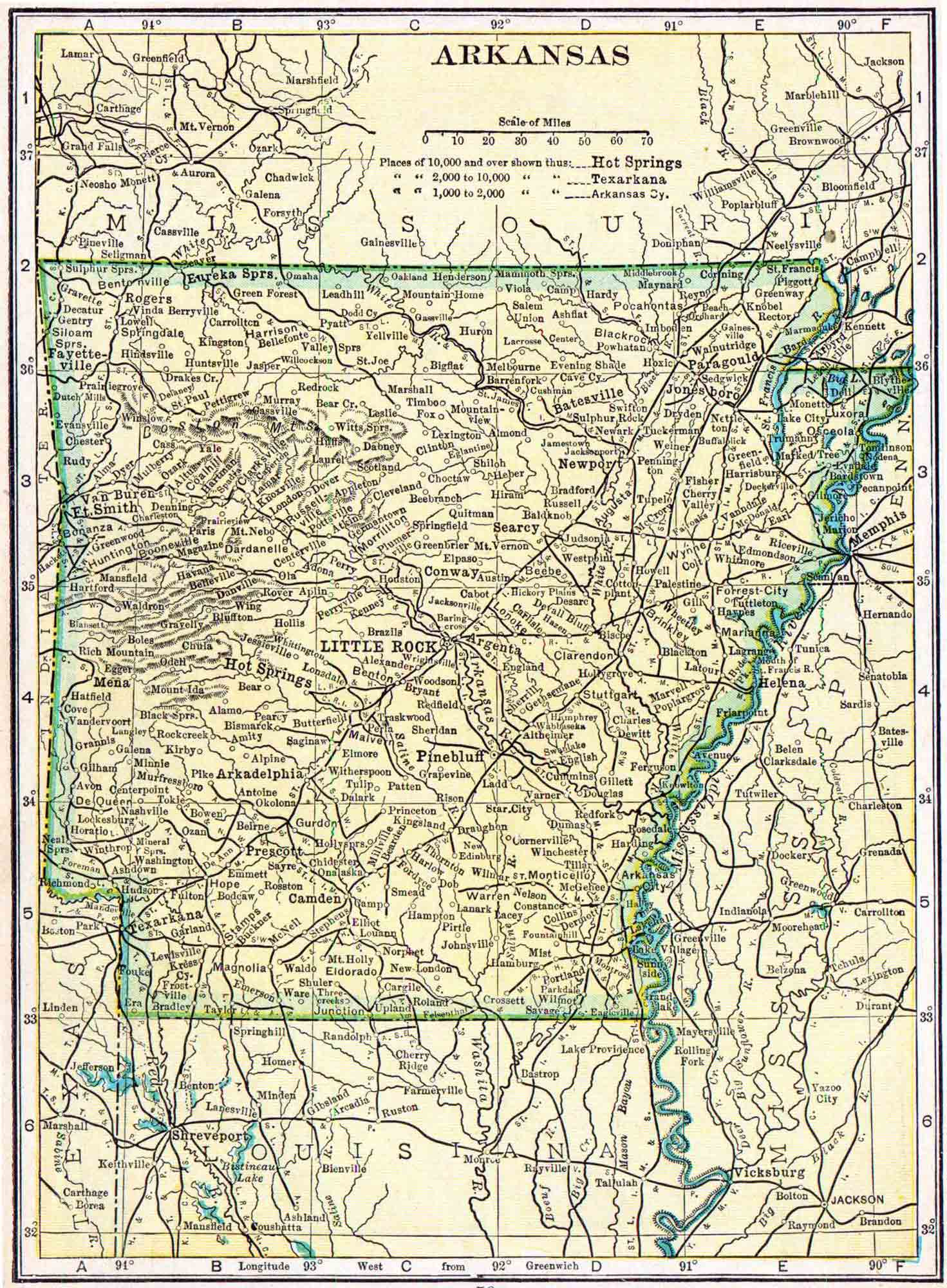 Arkansas Genealogy - Free Arkansas Genealogy | Access Genealogy