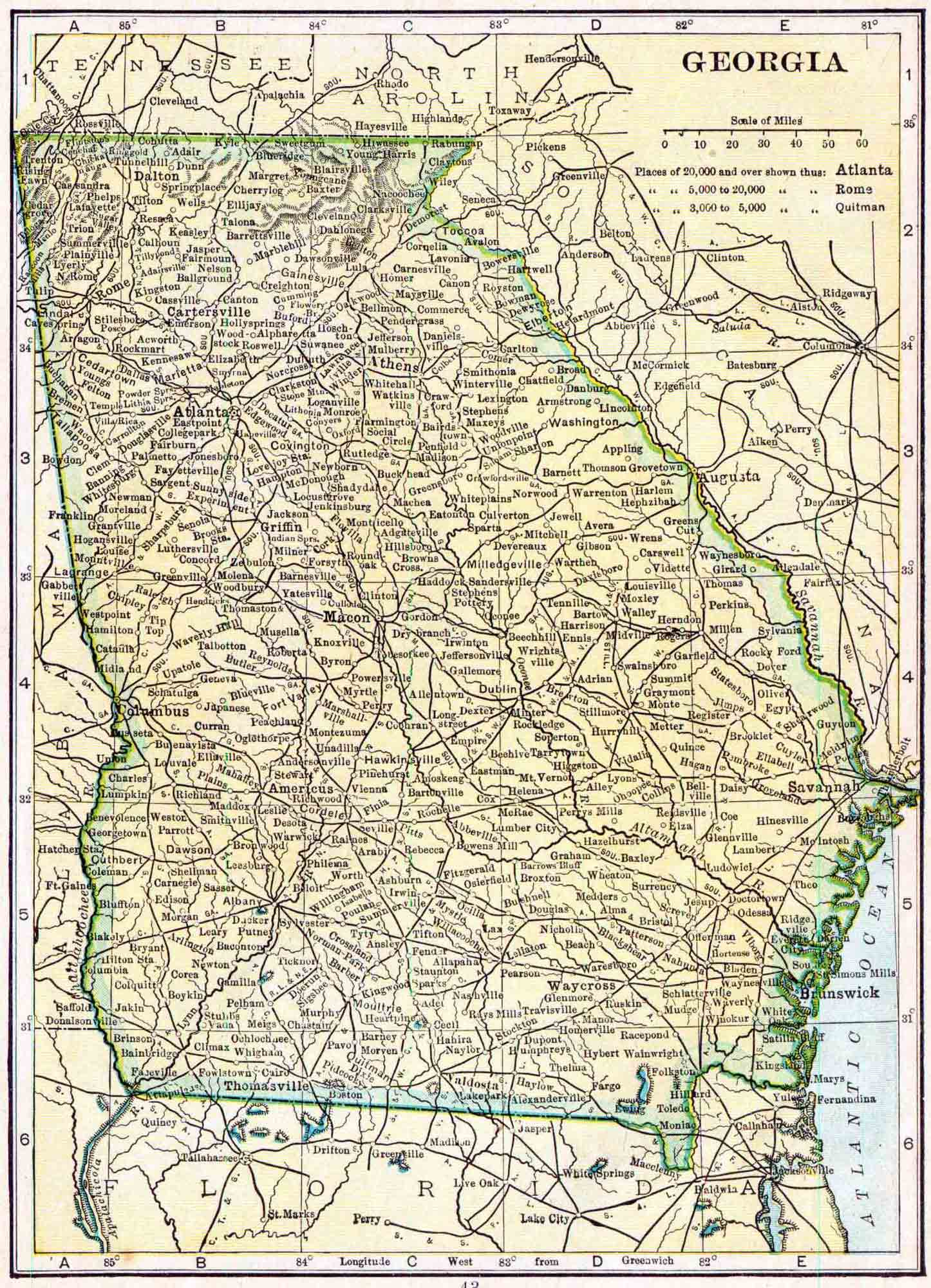 Georgia Genealogy - Free Georgia Genealogy | Access Genealogy