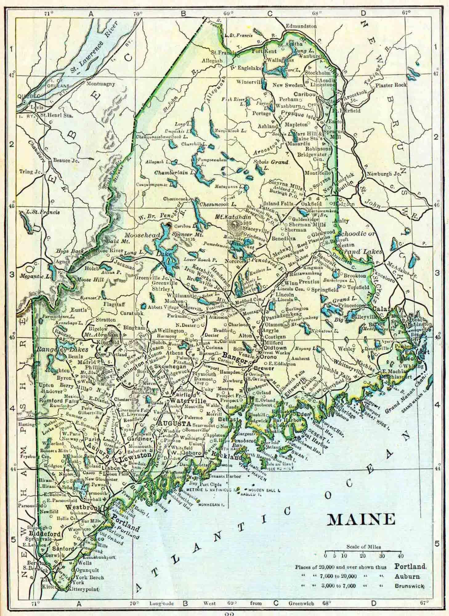 Maine Genealogy - Free Maine Genealogy | Access Genealogy on