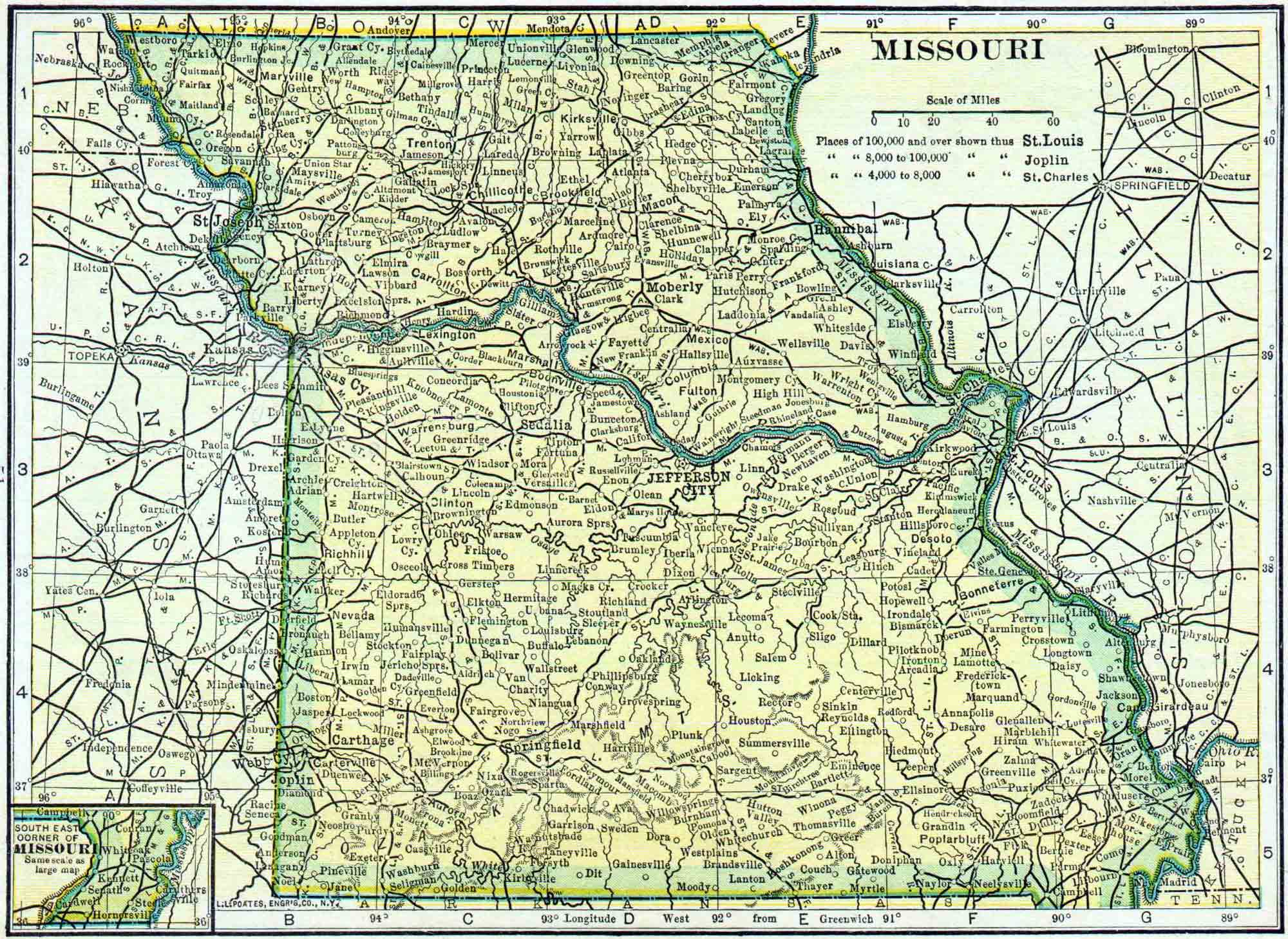Missouri Genealogy - Free Missouri Genealogy | Access Genealogy