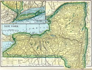 1910 New York Census Map