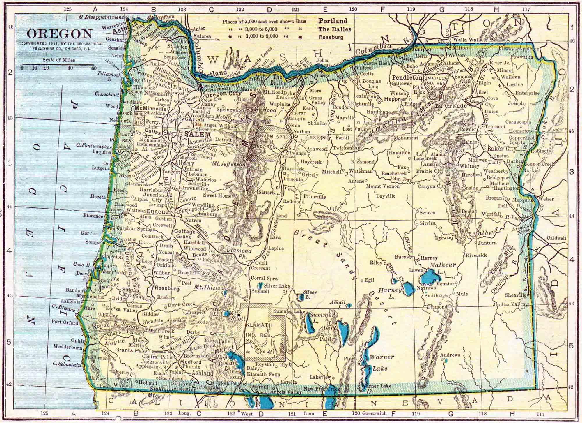 Oregon Genealogy - Free Oregon Genealogy - Access Genealogy