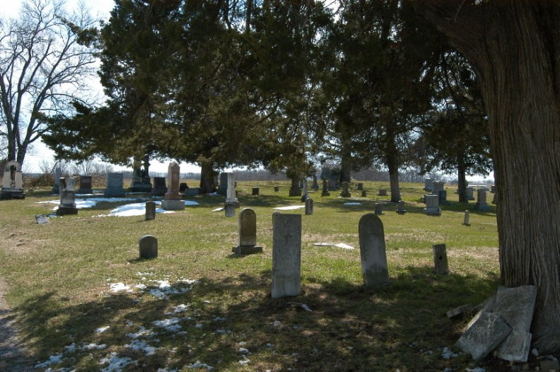 Mount Olive Cemetery, Cass County, Illinois