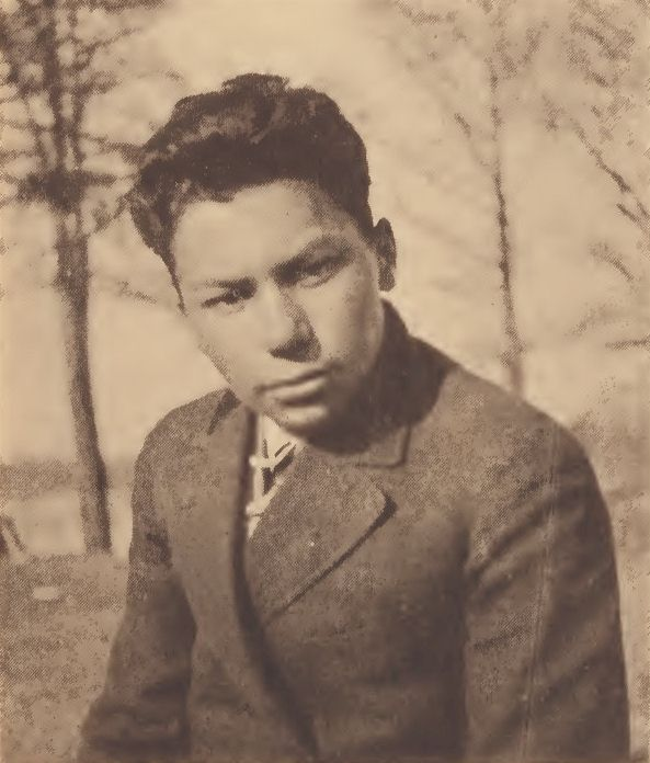 Powhatan Bradby, Chickahominy boy of Windsor Shades, Va.