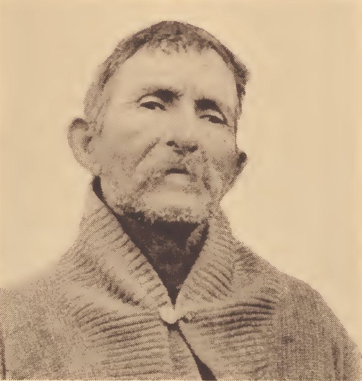 Luther Newton of the Potomac tribe