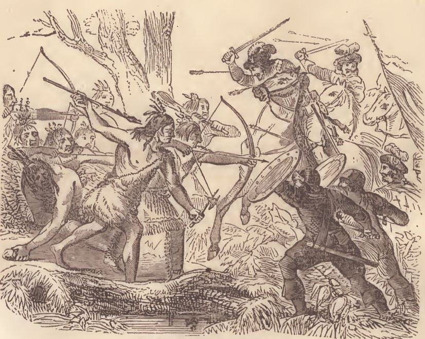 Ponce De Leon Mortally Wounded
