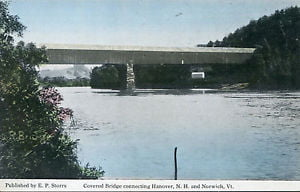 Norwich-Hanover covered bridge