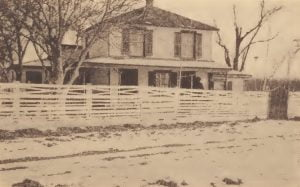 Pamunkey homestead, residence of Chief Cook
