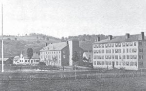 Norwich University 1862 - North Barracks South Barracks