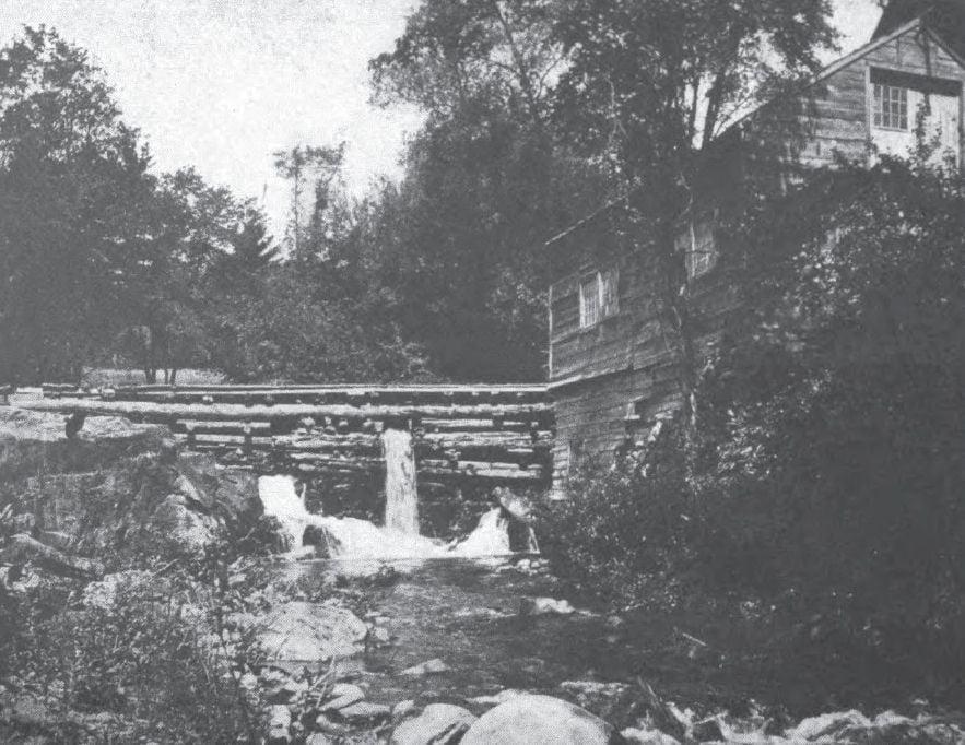 Knapp's Mill, Norwich, Vermont