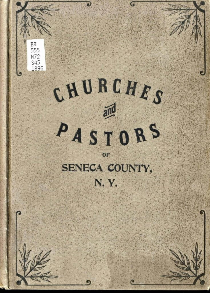 Churches and Pastors of Seneca County NY