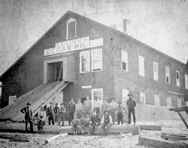 Faber Pencil Mill at Cedar Key