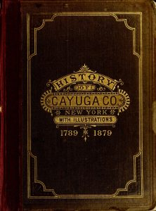 Cover of History of Cayuga County New York