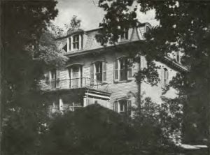 Historic Brickey Home at Prairie du Rocher