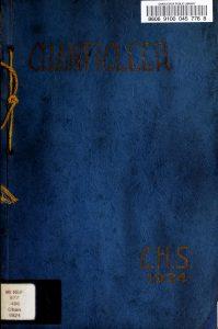 1924 Chanticleer Yearbook