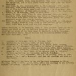 6th Page of Bartlett Family Genealogy