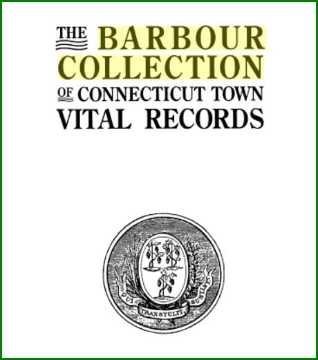 Divorce Records Search For: Barbour Collection Of Connecticut Vital Records