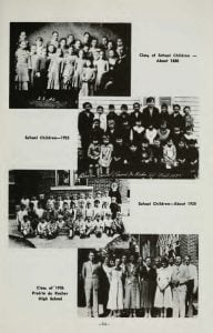 Class Pictures Prairie du Rocher