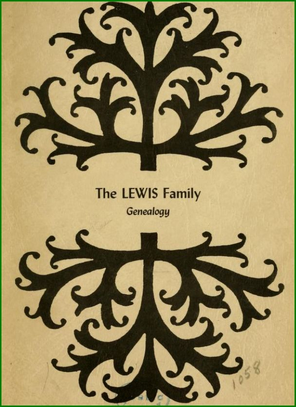 Lewis Family Genealogy