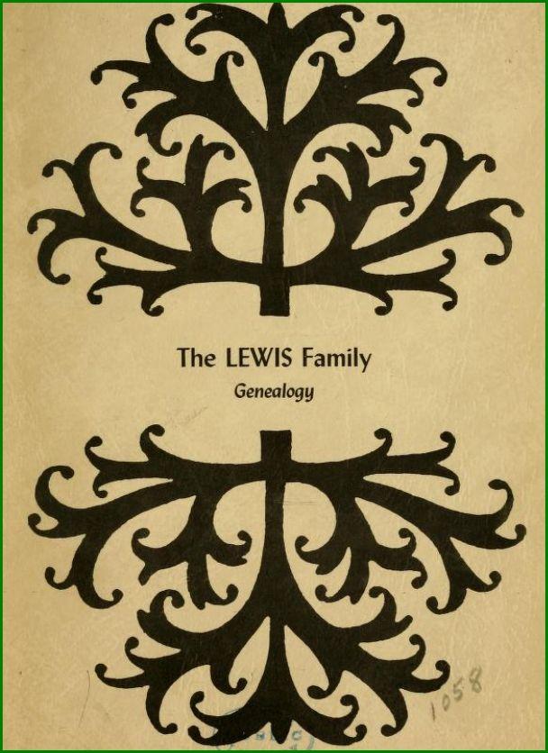 Lewis Family Genealogy