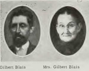 Mr and Mrs Gilbert Blais