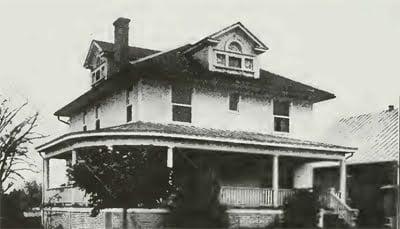 Residence of Chas. Hauck, Prairie du Rocher