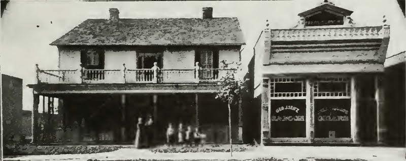 Residence of George J. Seitz, Prairie du Rocher