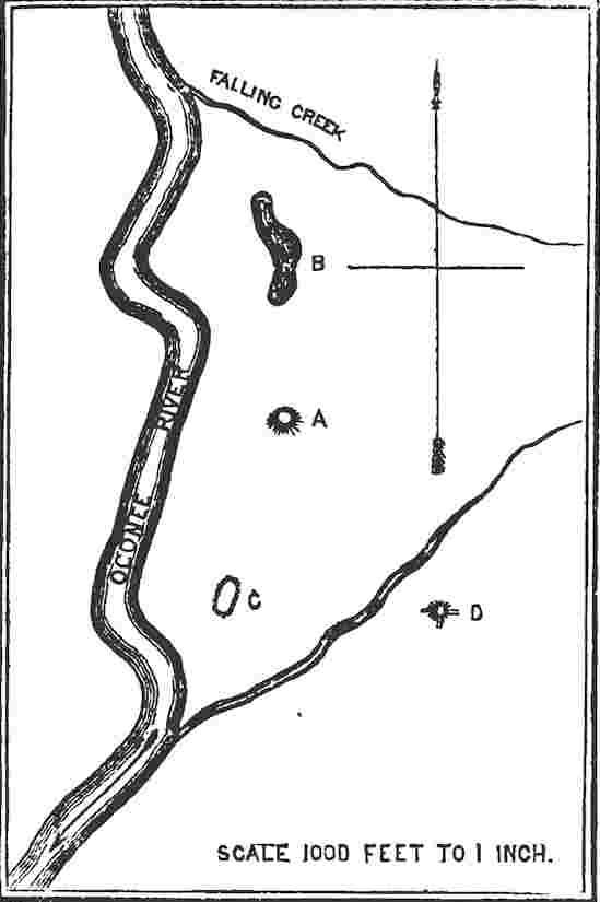 Ancient Tumuli on the Oconee River