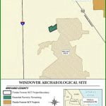 Map of Windover Archaeological Site