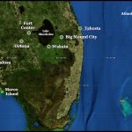 Satellite image of South Florida