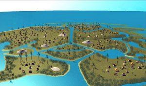 Birdseye View of Calusa
