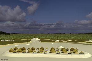Big Mound City archaeological zone