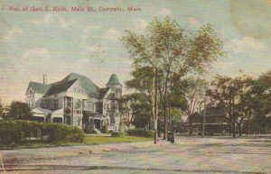 Residence of George E Keith Main St., Campbello, Mass